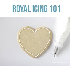 Learn the basics of royal icing with several tips and step by step instructions!