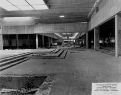 Step Court under construction in 1965
