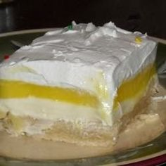 Lemon Lush | Cook'n is Fun - Food Recipes, Dessert, & Dinner Ideas