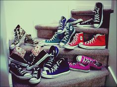 converse all star, every girl should own a pair:)