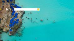 """At least half a dozen places on the globe are known as """"Blue Lagoon."""" This one is on the northwestern shore of Comino, a tiny isle between the islands of Malta and Gozo in the Mediterranean Sea. Comino offers visitors tranquil refuge and a chance to take a dip in the turquoise surf. http://binged.it/1rIzKIo #photography #ocean #paradise"""