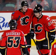 Young guns lead Calgary Flames to win over Jets - Sean Monahan!!