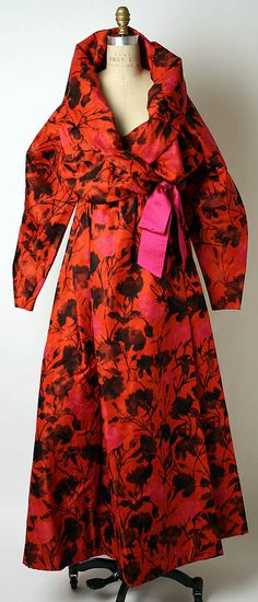 Evening Dress, Christian Lacroix, 1987-88, French, silk