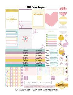 My Planner Envy: Easter Sampler - Free Planner Printable
