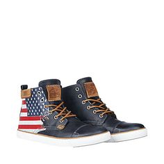 OLDGLORY BLUE men's boot casual oxford - Steve Madden