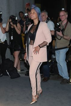 Alicia Keys à la Fashion Week de New York