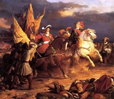 The Battle of Villaviciosa was a battle between a Franco-Spanish, on 10 December 1710, army led by Louis Joseph, Duke of Vendôme and Philip V of Spain and a Habsburg-allied army commanded by Austrian Guido Starhemberg. Both Philip V of Spain and the Archduke Charles of Austria claimed victory, but the number of dead and wounded, the number of artillery and other weapons abandoned by the Allied army and the battle's strategic consequences for the war confirmed victory for Philip.