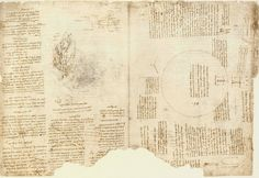 Карта Армении и описание  сделанное Леонардо Да Винчи