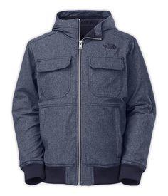 The North FaceBoys'Jackets & VestsBOYS' HOODED SOFT SHELL JACKET