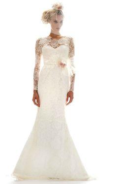 photo of Wedding Dresses Get Printed in 2012!