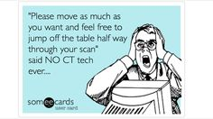 CT tech struggles