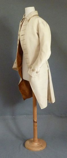 Worsted & Silk Frock Coat