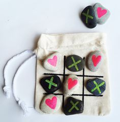 DIY Tic Tac Toe Travel Game
