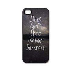 Star Can't Shine Custom Iphone 5 Case Iphone 5 Cases ($12) ❤ liked on Polyvore featuring accessories, tech accessories, phone cases, phone, cases and electronics