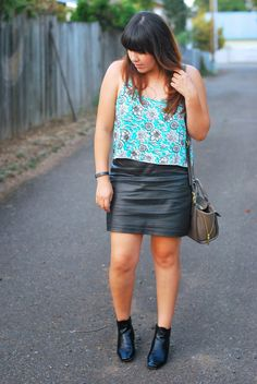 Florals and Leather