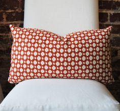 "Schumacher -  Betwixt - Spark -  14"" x 24"" lumbar - Designer Pillow - Decorative Pillow - Throw Pillow on Etsy, $79.00"