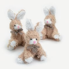 Plush Scruffy Brown Bean Bag Bunnies - OrientalTrading.com  #OrientalTrading.com #ChristmasWishList