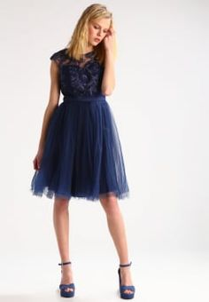 Shoppe den Sparkling New Years Look aus FACES Studio bei Zalando. Chi Chi, New Years Look, London, Cassie, Tulle, Navy, Formal, Skirts, Dresses