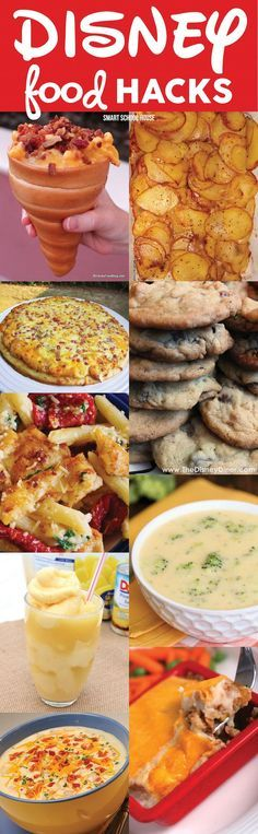 Disney Food Hacks! Copycat recipes of Disney's most popular food choices. People go crazy for these recipes at various Disney locations because they're so delicious!