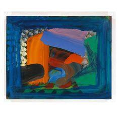 After Visiting David Hocknet by Howard Hodgkins Light Painting, Painting & Drawing, Patrick Heron, Howard Hodgkin, David Hockney, Picts, Paintings I Love, Contemporary Paintings, Painting Inspiration