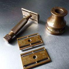 ATT Bronze Razor set