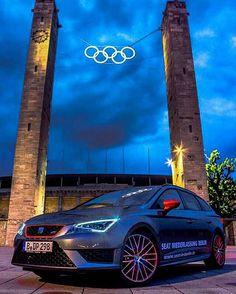 #belongs to #olympics #seat #leon #cupra #olympiastadionberlin #seatniederlassungberlin