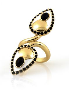 Teardrop Finger Ring - Low Luv | Glamhouse