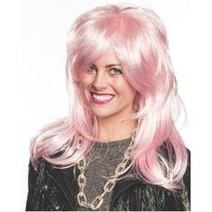 Jem & the Holograms Wig
