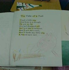 Focus Poetry  Using poetry journals and focusing daily on poetry in a kindergarten classroom.