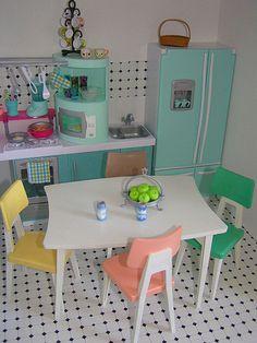 Barbie kitchen | Flickr - Photo Sharing!