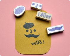 Our favorite word in French: Voila! It just made you feel so excited inside every time you heard it!