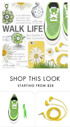 """""""Walk Life"""" by totwoo ❤ liked on Polyvore featuring Julien David, FOSSIL and Kate Spade"""