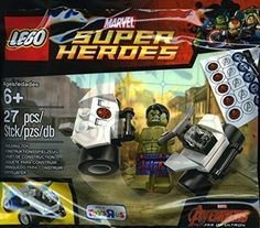LEGO, Marvel Super Heroes, The Hulk Exclusive Minifigure Bagged…