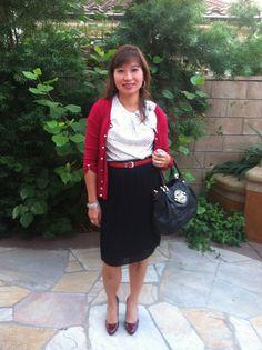 Black, Red & White