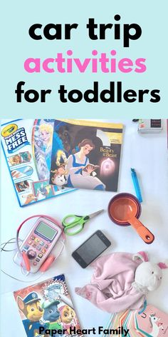 Car activities for toddler boys or girls and 3 year olds). These games, toys and road trip activities will keep your toddler busy and will help you keep your sanity intact! Car Trip Activities, Activities For 5 Year Olds, Infant Activities, Toddler Car Ride Activities, Educational Activities, Preschool Activities, Toddler Behavior, Toddler Toys, Toddler Stuff