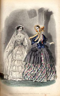 1855 godeys fashion plate…