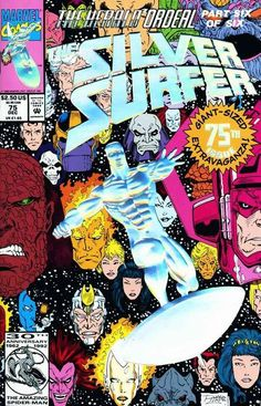 Silver Surfer Vol. 3 # 75 by Ron Lim