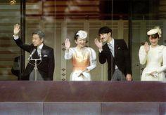 Empress Michiko and Princess Kiko, 1990