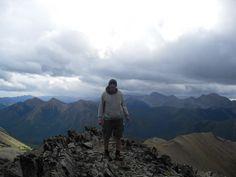 On top of Mt Lipsett