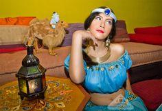 Jasmine from Aladdin - Chamelle Photography