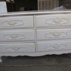 My Baby's Dresser - Mesa Az - Refurbished  Furniture - By Jessica Heward - look for her on Craigslist!