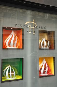 Pierre Herme's Pastry Window