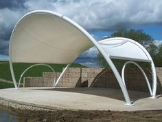 Award of Excellence for freestanding structures < 112 sq.m: Campbell Park Stage Canopy