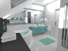 #projekt #wnetrza #bathroom Miniaturka (3), Studio Formy, #domowy.pl https://www.domowy.pl/projekty-wnetrz/lazienka/miniaturka-3-lazienka.html