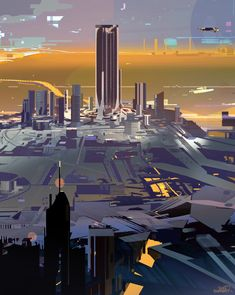 Ville 5, sparth . on ArtStation at https://www.artstation.com/artwork/2Ll4v