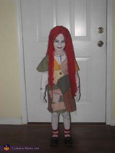 Sally Costume <3 2012 Halloween Costume Contest