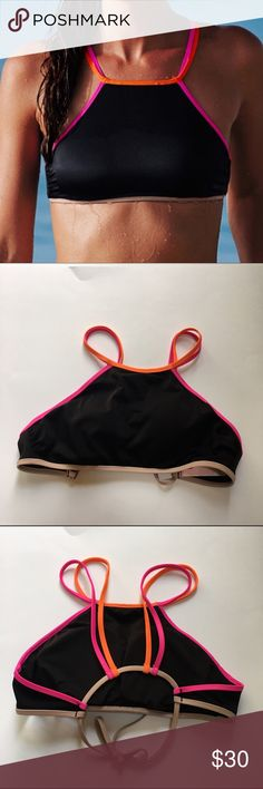 Victoria's Secret bikini top NWOT never worn // brand new. Victoria's Secret bikini top. From the 2016 collection. No trades. Size small.  The pink Victoria's Secret tag may be cutout/crossed out to prevent returns to the actual store. •Victoria's Secret no longer makes swimwear Victoria's Secret Swim Bikinis