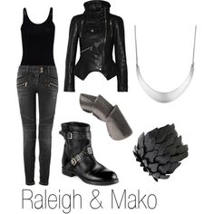 """Raleigh & Mako"" by ja-vy on Polyvore"