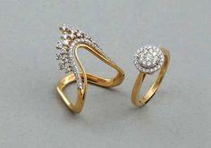 Gold Jewelry Design In India Gold Jewelry Simple, Gold Rings Jewelry, Gold Bangles, Diamond Jewelry, Wedding Jewelry, Jewelery, Quartz Jewelry, Boho Jewelry, Diamond Rings