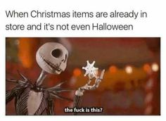 I WAS JUST HAVING A CONVERSATION WITH MY FRIEND ABOUT HOW PEOPLE ARE SKIPPING HALLOWEEN. THE FUCK?!